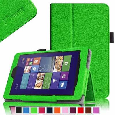 Fintie Folio Case Slim Fit Leather Stand Cover With Stylus Loop for DELL Venue 8 16 GB 32 GB Android Tablet