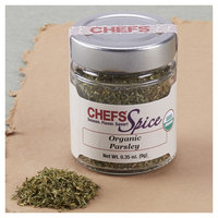 CHEFS Organic Parsley, Dried, 0.35-ounce - 0.35-oz. - CHEFS Spice Organic