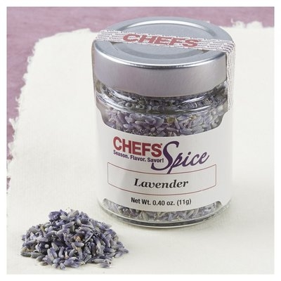 Chefs Spice CHEFS Lavender, Dried, 0.4-ounce - 0.4-oz.