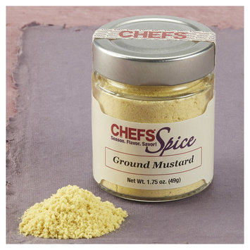 Chefs Spice CHEFS Mustard Seed, Ground, 1.75-ounce - 1.75-oz.