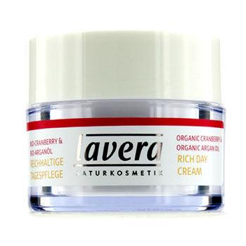 Lavera Organic Cranberry & Argan Oil - Rich Day Cream 30ml/1oz