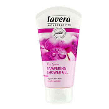 Lavera Rose Garden Pampering Organic Shower Gel 150ml