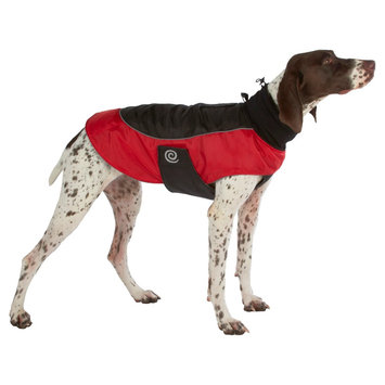 Ultra Paws Comfort Dog Coat, Red, Small