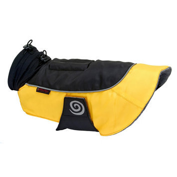 Ultra Paws Comfort Dog Coat, Yellow, Small