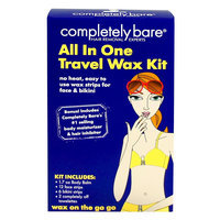 Completely Bare All In One Travel Wax Kit