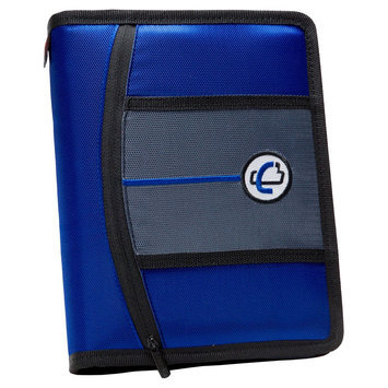 Case It Inc. Ring Binder Blue Memo Case It