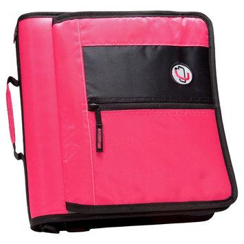 Case It Inc. Ring Binder Neon Pink 8.5