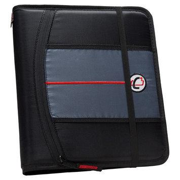 Case It Inc. Ring Binder Black Internal Pockets 8.5