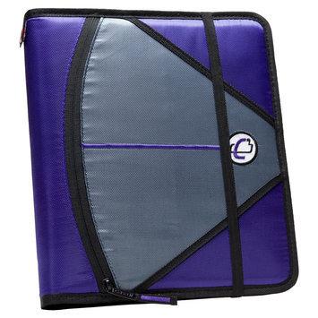Case It Inc. Ring Binder Purple 8.5