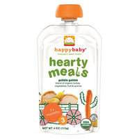 Happy Baby Organic Hearty Meals, Gobble Gobble - 4oz (8 Pack)