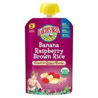 Earths Best Earth's Best Organic Banana Raspberry Brown Rice - 4.2oz (6 Pack)