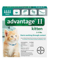 AdvantageA II 4-Pack Flea Kitten Treatment