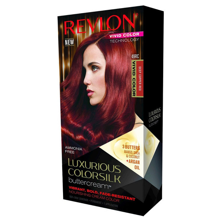 Revlon Luxurious Colorsilk Buttercream Haircolor Vivid Colors