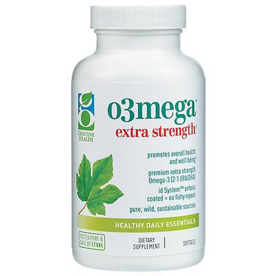 Genuine Health - o3mega Extra Strength - 60 Softgels