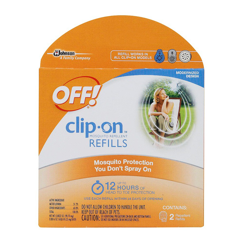 OFF! Clip-On Mosquito Repellent Refills