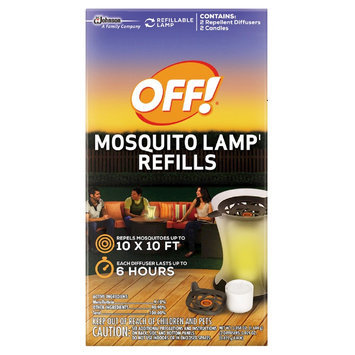 Insect Yard Repellents: OFF! Mosquito Lamp Refill 2ct, 0.058oz