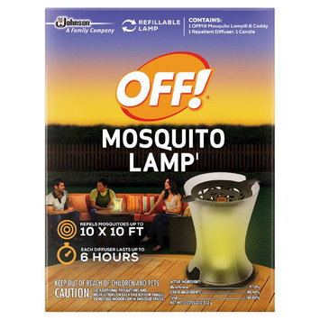 Insect Yard Repellents: OFF! Mosquito Lamp Starter Kit 0.029oz