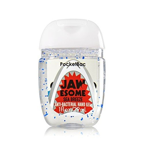 Bath & Body Works PocketBac Hand Gel JAWsome Sea Breeze