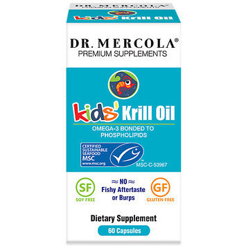 Dr. Mercola: Kids Krill Oil, 60 caps