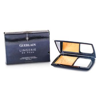 Guerlain Lingerie de Peau Compact Powder Foundation, 04 Beige Moyen