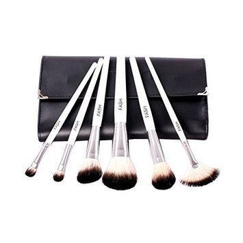 FASH Limited FASH Professional goat hair makeup Brush Set with Faux Leather Pouch, 16-Piece , For Eye Shadow, Blush, Eyeliner.......