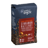 Simply Enjoy Cinnamon Hazelnut Premium Ground Coffee