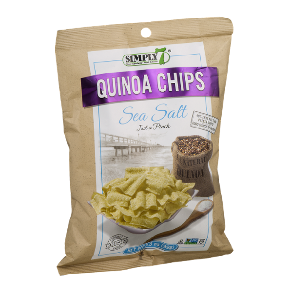 Simply 7 Quinoa Chips Sea Salt Flavor