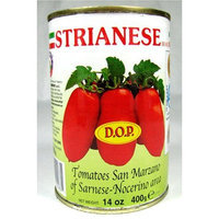 Strianese Whole Peeled D.O.P. San Marzano Tomatoes 14 Oz. Can