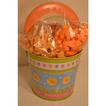 Pet Party Grams Dog Easter Basket Green