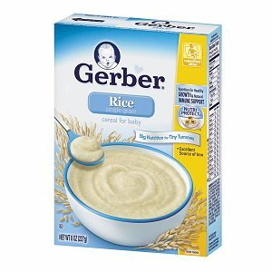 Gerber Cereal For Baby
