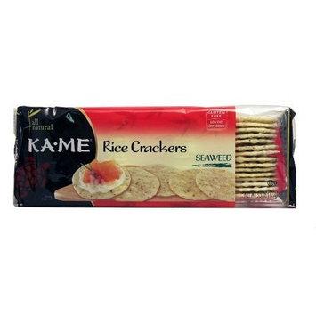 Kame Rice Cracker, Seaweed, 3.5 oz (pack of 12 ) ( Value Bulk Multi-pack)