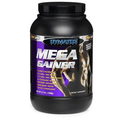 Dymatize Nutrition Mega Gainer Powder, Rich Chocolate, 3.3 Pound