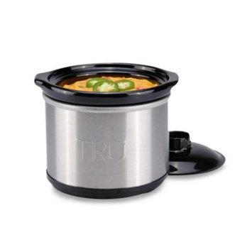 Select Brands TRU 6.5qt Oval Cast Aluminum Slow Cooker, Black