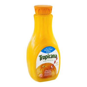 Tropicana Pure Premium Orange Juice No Pulp Healthy Kids