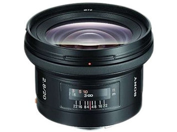 Sony SAL 20mm f/2.8 Super Wide Angle Lens