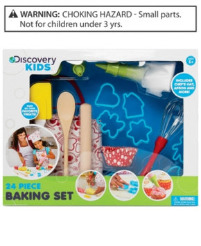 Discovery Kids 24-pc. Baking Set Kid's