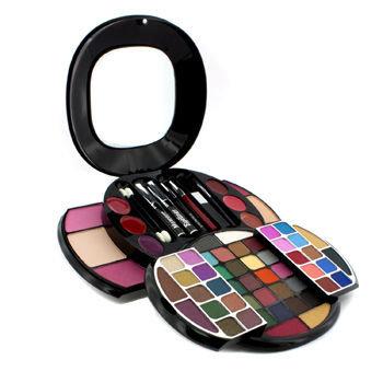 Cameleon MakeUp Kit G2672 (49x EyeShadow 3x Blusher 2x Powder Cake 6x Lip Gloss 1x Mascara 1x Eyeliner.)