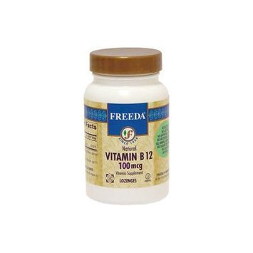Freeda Kosher B12 Vitamin 100 Mcg. 100 Lozenges