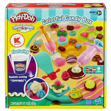 Hasbro Play-Doh Sweet Shoppe Colorful Candy Box Set Kmart Exclusive