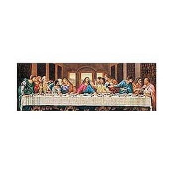 World Longest Panoramic Puzzle Last Supper Ages 12+