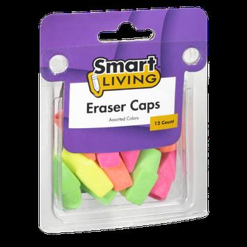 Smart Living Assorted Color Eraser Caps - 12 CT