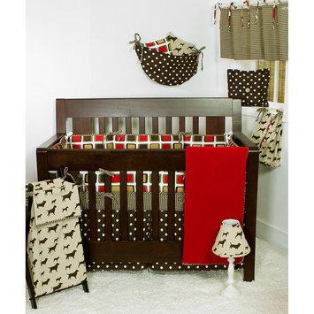 Cotton Tale Designs Houndstooth 7 Piece Crib Bedding Set