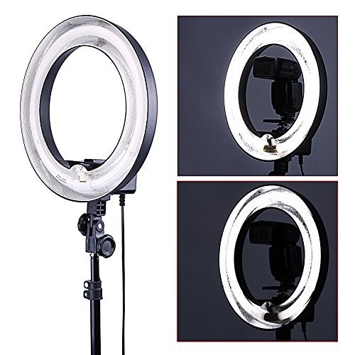 Neewer 14 Dimmable Ring Light 50W(400W equivalent ) Continous Camera Photo Video Lighting Recording