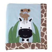 Lambs & Ivy - Peek-A-Boo Jungle - Blanket