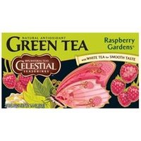 Celestial Seasonings Green Tea Raspberry Gardens - 20 Tea Bags
