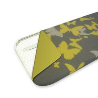 Reversible Ironing Board Cover in Yellow/Yellow Butterflies