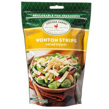 Archer Farms Wonton Strips Salad Toppers - 4 oz.