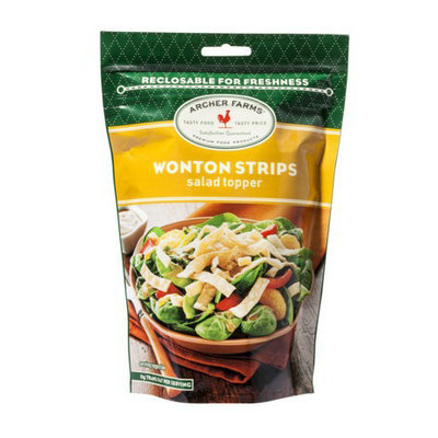 Archer Farms Wonton Strips Salad Toppers - 4 oz.