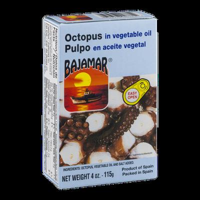 Bajamar Pulpo Octopus in Vegetable Oil