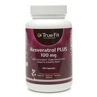 True Fit Vitamins Resveratrol Plus